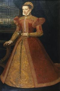 Portrait of an Unknown Lady, C.1575 by Alonso Sanchez Coello