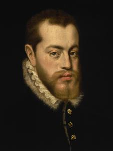 Portrait of King Philip II of Spain by Alonso Sanchez Coello