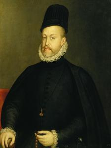 Portrait of Philip II by Alonso Sanchez Coello