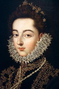 Portrait of the Infanta Catalina Michaela of Austria, C1582-C1585 by Alonso Sanchez Coello