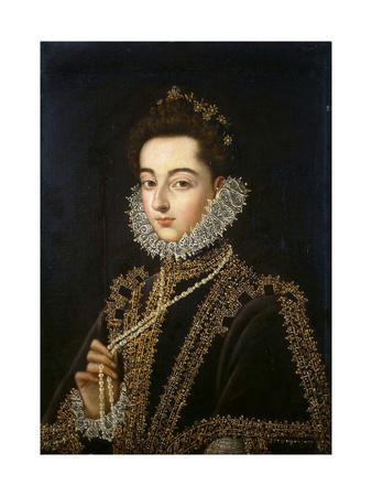 Portrait of the Infanta Catherine Michelle of Spain, (1567-159), 1582-1585