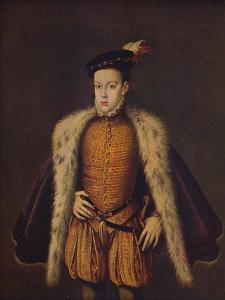 'Principe Don Carlos hijo de Felipe II', (Prince Carlos de Austria), 1557-1559, (c1934) by Alonso Sanchez Coello