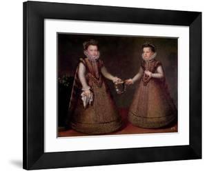 The Infantas Isabel Clara Eugenia by Alonso Sanchez Coello