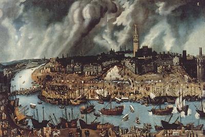 The Port of Seville, c.1590