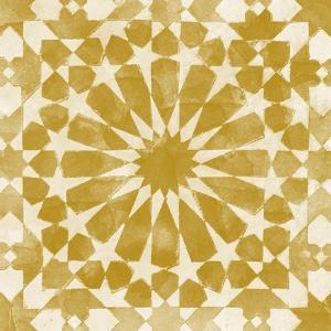 Orange Tile Light 10 by Alonza Saunders