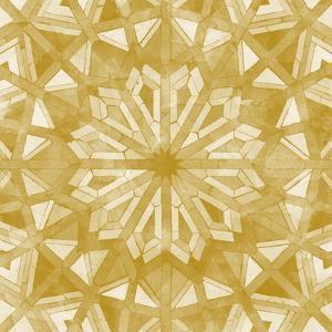 Orange Tile Light 6 by Alonza Saunders
