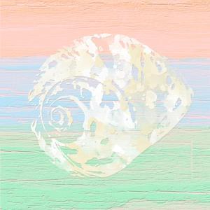 Pastel Coastal 2 by Alonza Saunders