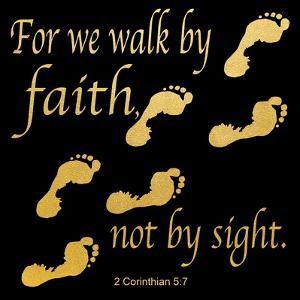 Walk By Faith 3 by Alonza Saunders