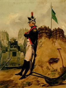 Alexander Hamilton (1757-1804) in the Uniform of the New York Artillery by Alonzo Chappel