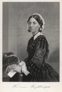 Florence Nightingale Nurse Hospital Reformer Philanthropist by Alonzo Chappel