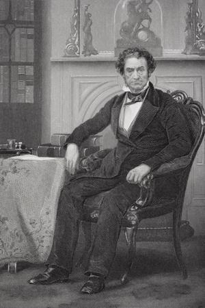 Portrait of Rufus Choate (1799-1859)