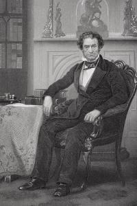 Portrait of Rufus Choate (1799-1859) by Alonzo Chappel