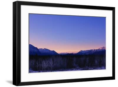 Alpenglow-Brenda Petrella Photography LLC-Framed Giclee Print