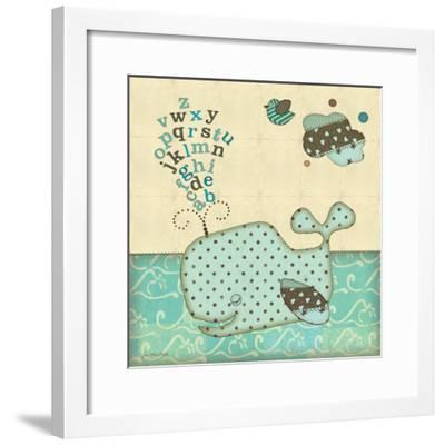 Alphabe Whale-Jo Moulton-Framed Premium Giclee Print
