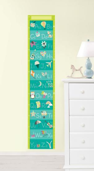 Alphabet Growth Chart Wall Decal Sticker Wall Decal By Art