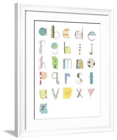 Alphabet II-Courtney Prahl-Framed Art Print