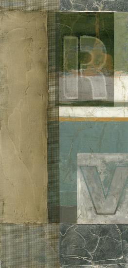 Alphabet Layout II--Art Print