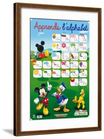 Alphabet Mickey Mouse