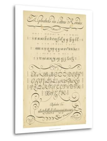 Alphabet Sampler I