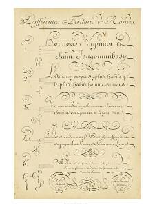 Alphabet Sampler III