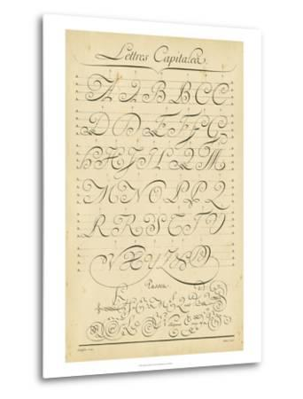 Alphabet Sampler IV