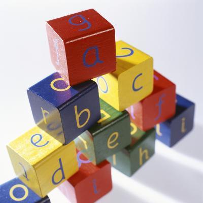 Alphabet Toys-Tek Image-Photographic Print