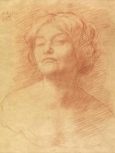 Alice Knewstub, 1897 by Alphonse Legros