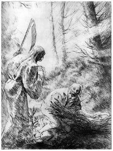 Death of a Woodhewer, C1860-1910 by Alphonse Legros