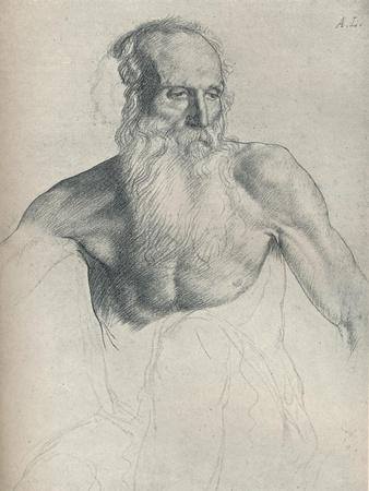 'Etude De Vieillard A Longue Barbe', c1895, (1923)