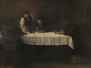 Le Repas des Pauvres by Alphonse Legros