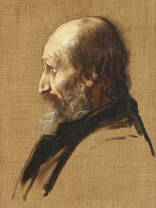Portrait of Thomas Dixon, 1879 by Alphonse Legros