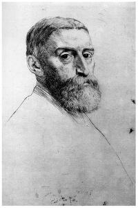 Sir E Poynter, C1860-1910 by Alphonse Legros