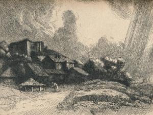 'The Abbey Farm', c1893 by Alphonse Legros