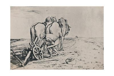 'The Plough', mid-late 19th century, (1946)