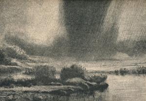 'The Storm', c1890 by Alphonse Legros