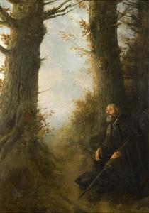 Tired Wanderer, 1878 by Alphonse Legros