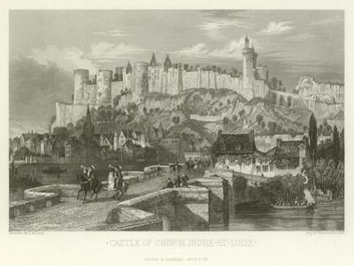 Castle of Chinon, Indre-Et-Loire