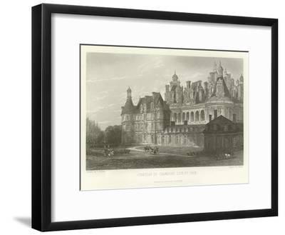 Chateau De Chambord-Loir-Et-Cher