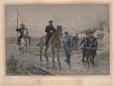 Communication Aux Avant-Postes, 1881