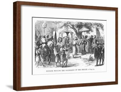 Dupleix Meeting the Soudhabar of the Deccan