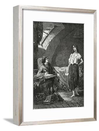 Illustration from Les Misérables, 19th Century