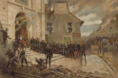 Le Bourget, 30 October 1870