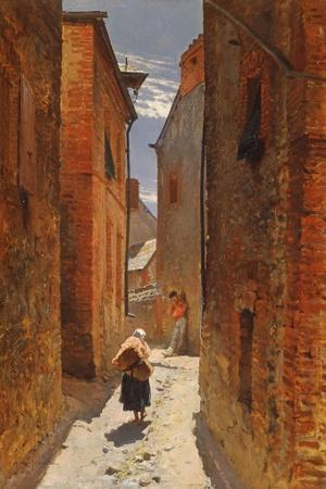 Street in the Old Town, 1873