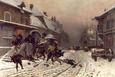 The Attack at Dawn, 1877
