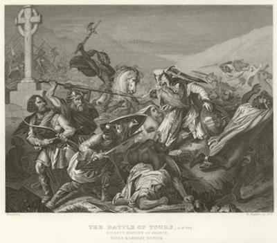 The Battle of Tours, Ad 732