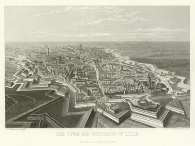 The Town and Fortress of Lille