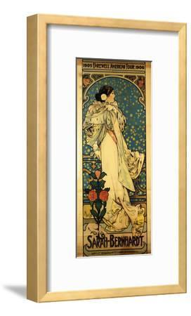 A Poster for Sarah Bernhardt's Farewell American Tour, 1905-1906, C.1905