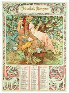 Adulthood, 1897 by Alphonse Mucha