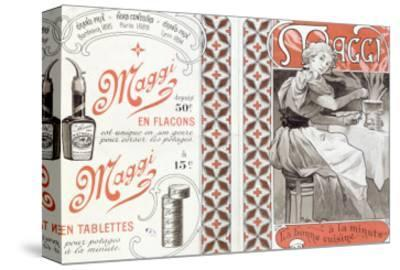 Advertisement for Maggi, late 19th century