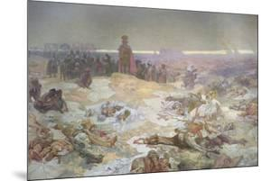 After the Battle of Grunwald, from the 'Slav Epic', 1924 by Alphonse Mucha